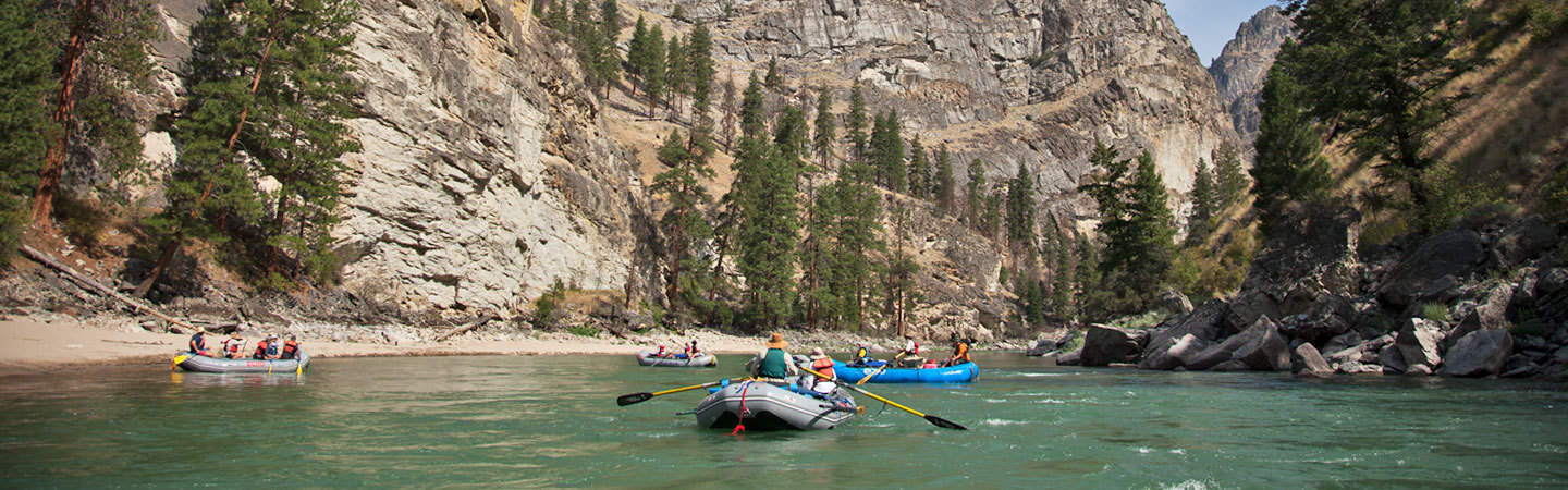 Middle Fork of the Salmon River Rafting